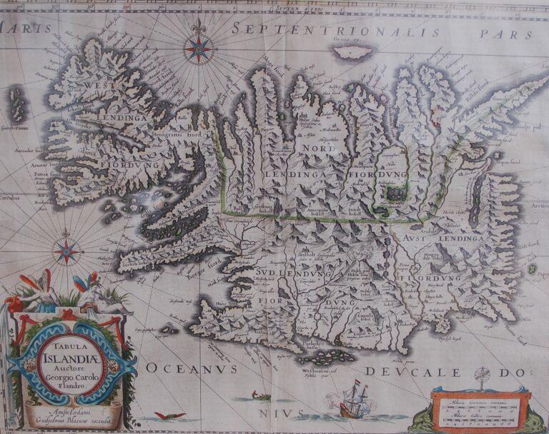 Íslandskort frá 1683